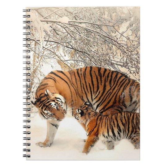 Tigers Spiral Note Book