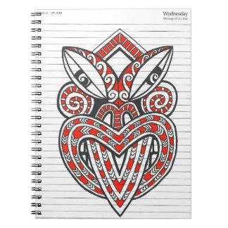 Tiki Face - The Notebook