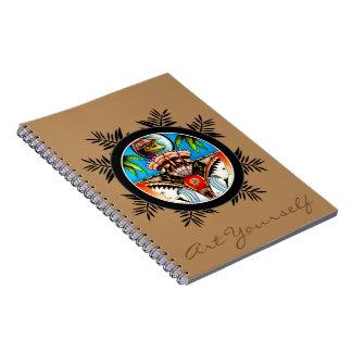 Tiki Frog Notebook