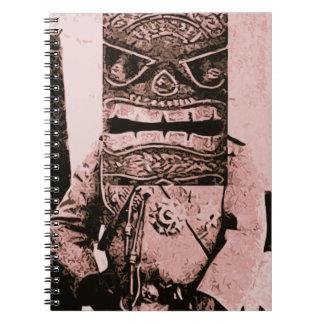 Tiki Mask Man Notebooks