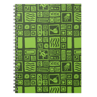 Tiki Pattern Notebook