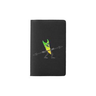 Tiki Surfer Green Pocket Moleskine Notebook