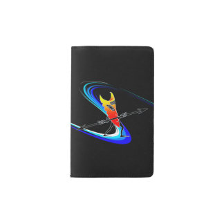 Tiki Surfer Pocket Moleskine Notebook