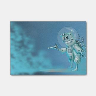 TILDE ROBOT ALIEN Post-it® Notes 4 x 3