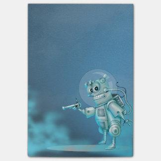 TILDE ROBOT ALIEN Post-it® Notes 4 x 6