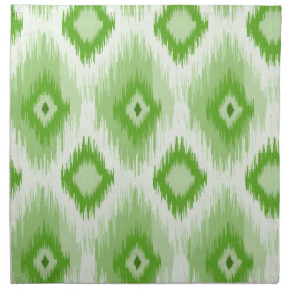 Tiled Chic Green iKat Napkin