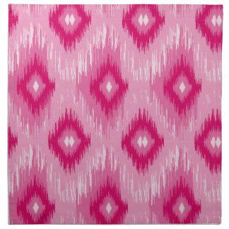 Tiled Chic Pink iKat Napkin