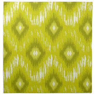 Tiled Chic Yellow iKat Napkin