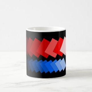 tiled rectangles coffee mug
