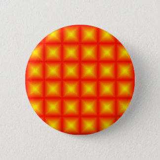 Tiled Tile Reflective Pattern Design 6 Cm Round Badge