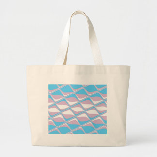Tiled Transgender Pride Flag Tote Bag