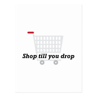 Till You Drop Postcard