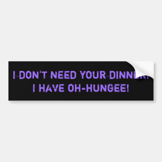 Tim and Eric Cinco I-Jammer Commercial Quotation Bumper Sticker