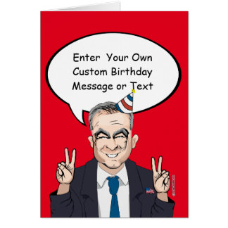 Tim Kaine Birthday Card - Customize Your Message -
