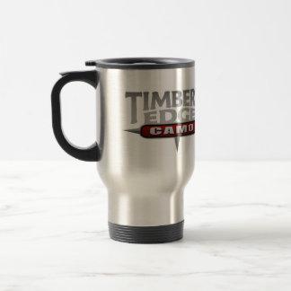 Timber's Edge logo travel mug