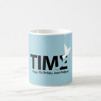 Time Flies Happy 18th Birthday Mug