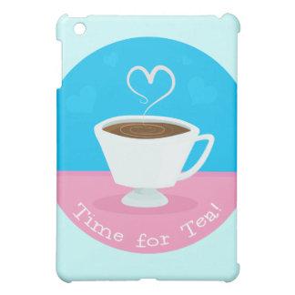 Time for Tea heart teacup Case For The iPad Mini