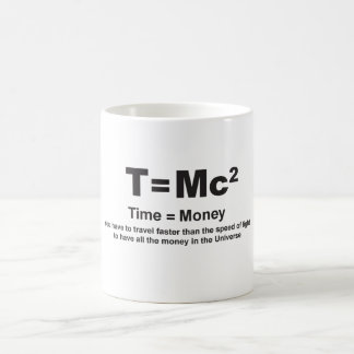 Time = Money Faster - Mug