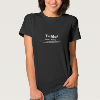 Time = Money Faster - Woman's Black T-Shirt