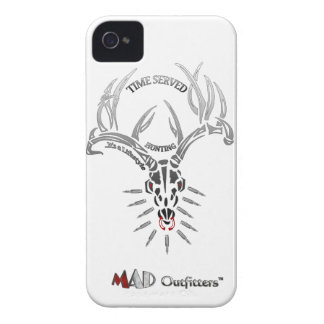 Time Served Deer Skull Phonecase Case-Mate iPhone 4 Cases