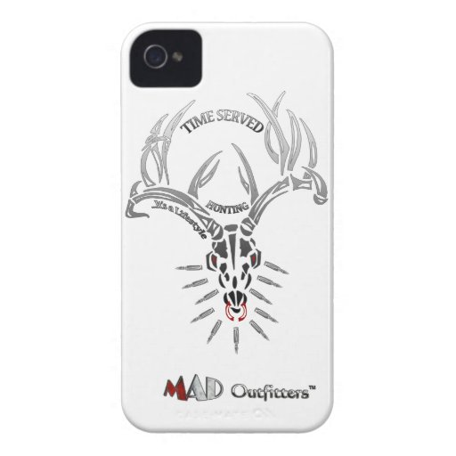 Time Served Hunting Skull Phonecase iPhone 4 Cover