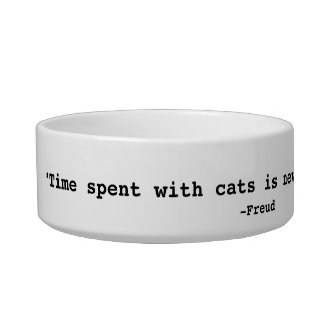 Time Spent with Cats Pet Food Bowls
