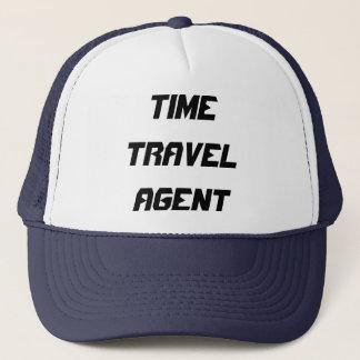 TIME TRAVEL AGENT TRUCKER HAT