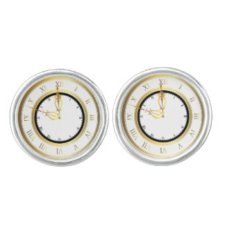 Time with in Time Cuff Links