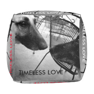 Timeless Art Collection Pouf