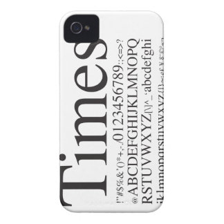 Times - iPhone4 - iPhone 4 Case-Mate Cases