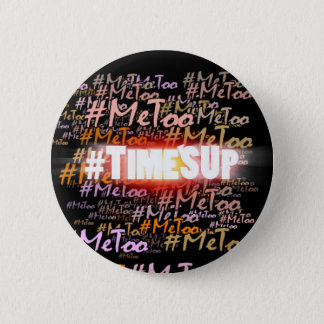 Time's Up explosion 6 Cm Round Badge