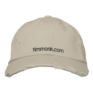 timmonk.com Cap Embroidered Hats