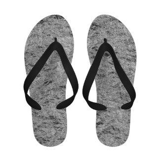 Tin Foil Flip Flops