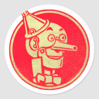 Tin Man, Wizard of Oz Classic Round Sticker