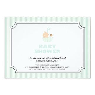 tiny baby {baby shower invitation}