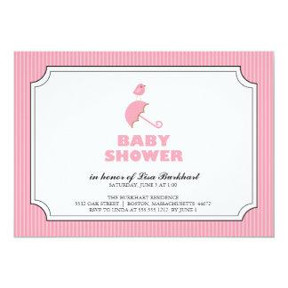 tiny bird {baby shower invitation}