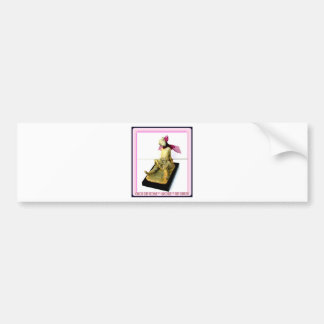 """Tiny Dancer: bronze sculpture Bumper Sticker"
