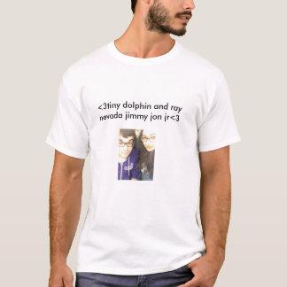 Tiny Dolphin and Ray Nevada Jimmy Jon Jr. T-Shirt