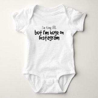 Tiny IRL, but huge on Instagram baby bodysuit