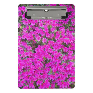 Tiny Pink Rhododendrons Floral Mini Clipboard
