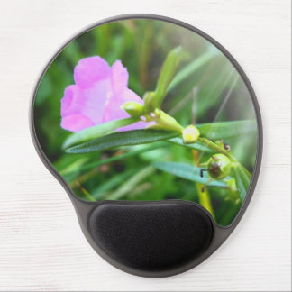 Tiny Purple Bloom Gel Mousepad