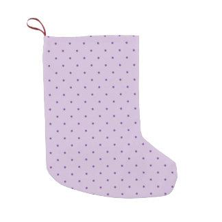 Tiny Purple Polka-Dots on Light Purple