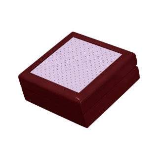 Tiny Purple Polka-Dots on Light Purple Gift Box