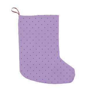 Tiny Purple Polka-Dots on Purple