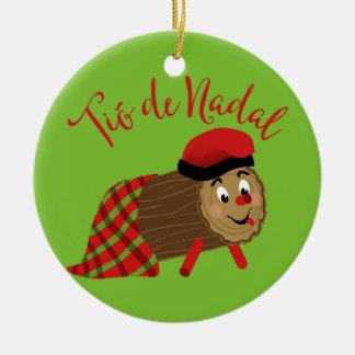 Tio De Nadal Christmas Ornament
