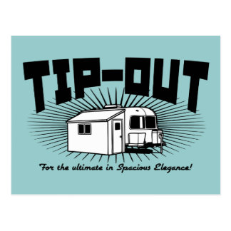 Tip-Out! Postcard
