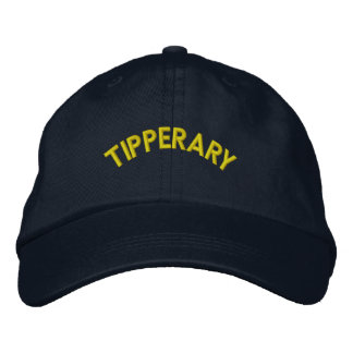 TIPPERARY-Ireland: Adjustable Cap Embroidered Baseball Caps