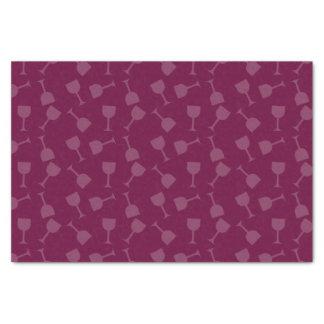 Tipsy Wine Glasses Tissue Paper
