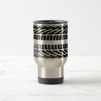 Tire Marks Design Travel Mug