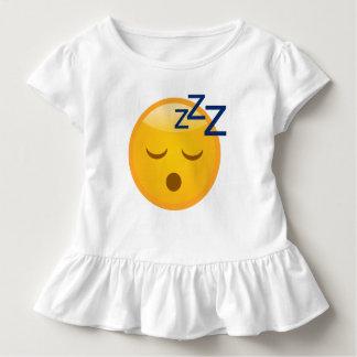 Tired Bedtime Emoji Toddler T-Shirt